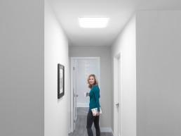 domo tubular pasillos