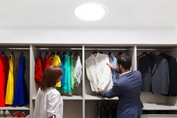 domo solar closet