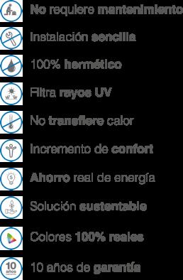 Beneficios del domo solar Solatube